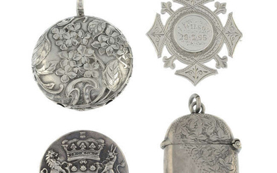 A small selection of jewellery
