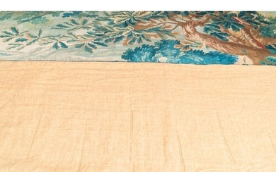 A wool and silk 'Backgammon' wall tapestry after David Tenie...