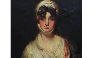 After Sir Thomas Lawrence (1769-1830) Mrs Siddons, as Mrs Ha...