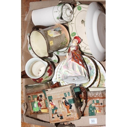 Collection of Royal Doulton china including The Paisley Shaw...