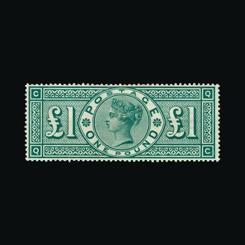 Great Britain - QV (surface printed) : (SG 212) 1891 £1 (dee...