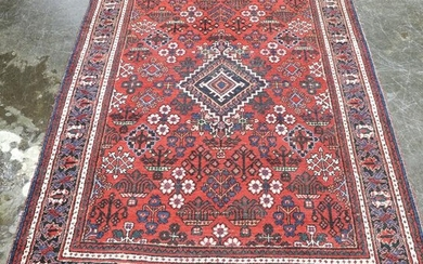 Hand Knotted Rug - 6'11 x 4'6