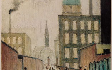 L.S. Lowry (1887-1976) Mrs Swindell's Picture