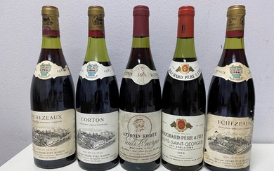 Mixed lot Burgundy 1983