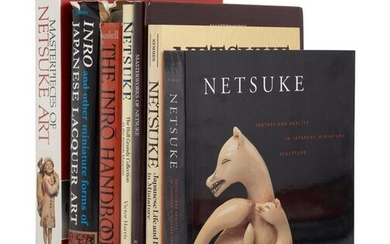 [NETSUKE] A large group of works about Japanese