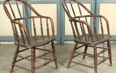 Pair Antique Windsor Chairs