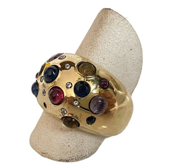 14 kt. Yellow gold - Ring Mixed