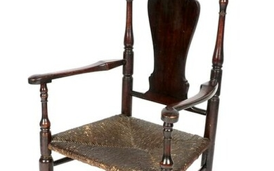 18th / 19th Century Queen Anne Arm Chair