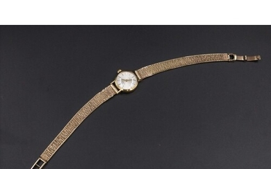 9CT Gold Garrard Watch Inscribed on the Back for Services be...