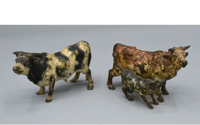 A Late 19th/Early 20th Century Cold Painted Bronze Model of ...