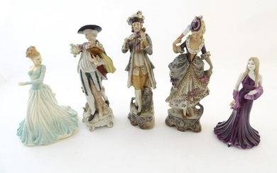 A Royal Doulton lady In Vogue - Diane, no. HN4202, and