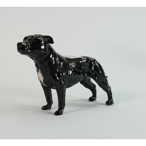 Beswick Staffordshire Bull Terrier 3060 in brindle