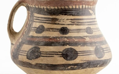 Chinese Neolithic Pottery Storage Vessel