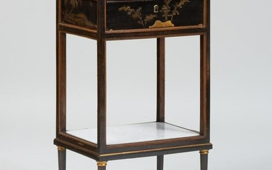 Louis XVI Style Ormolu-Mounted Japanese Lacquer Table