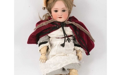 Simon and Halbig for Heinrich Handwerck, Germany, bisque head doll