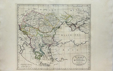 Three Maps of Turkey from the late 18th and early 19th