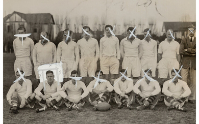 Unknown Artist (20th Century), Group of 50 Sports Press Photographs, Belgrano Rugby (1930s-60s)