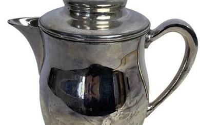 VTG ENGLISH SILVER MFG CORP SILVER PLATE PITCHER