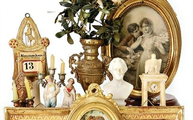 nice mixed lot of dollhouse decoration pieces