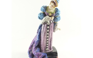 A large Royal Doulton figure of Ellen Terry as Queen Catheri...