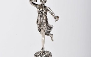"""A toothpick holder """"Dancer in turban holding a cup"""""""