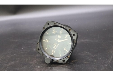 ALTITUDE CLOCK Used in LANCASTER BOMBERS and SPITFIRES durin...