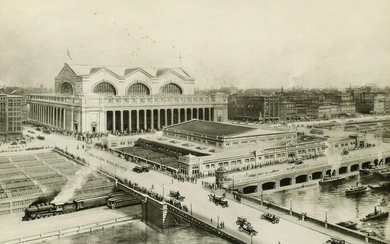CHICAGO'S NEW UNION STATION ON THE C.M.St.P.&M. C. 1925