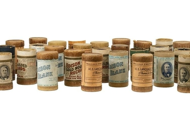 Collection of Edison Cylinders