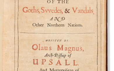 Olaus Archbishop of Uppsala Magnus (1490 1557) A Compendious