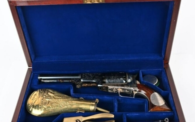 US HIST. ENGRAVED TOWER OF LONDON COLT DRAGOON