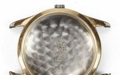 Watch Case Crystal & Stainless Steel Back - Engraved