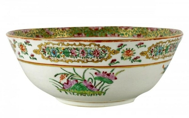 19TH C. CHINESE PORCELAIN BOWL PERSIAN SPECIAL ORDER