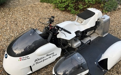 2015 BMW Classic Race Sidecar Outfit Purchased 2015 Little...