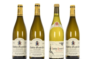 3 B CHABLIS GRENOUILLE (Grand Cru) Jean-Paul...