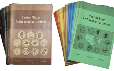 39 Issues of 1980's Central States Journals. Complete