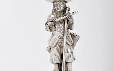 """A toothpick holder """"Shepherd with flute"""""""