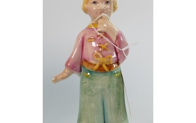 Beswick rare figure of a girl toddler: height 14.5cm. (finge...