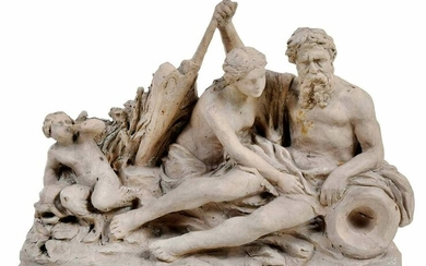 French School Figural Sculpture