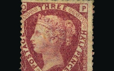 Great Britain - QV (line engraved) : (SG 53) 1870 1½d rose-r...