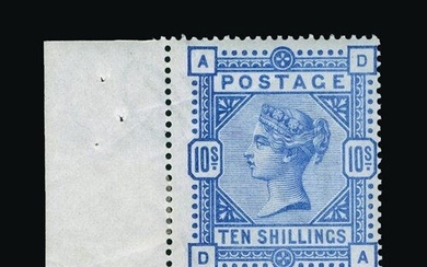 Great Britain - QV (surface printed) : (SG 183) 1883-84 10s ...