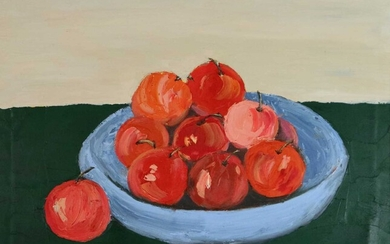 Liu Haiming (Chinese Contemporary) Still Life with Apples
