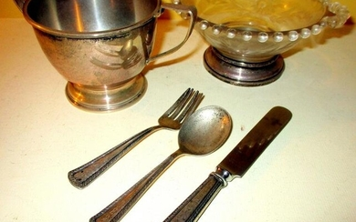 Miscellaneous Lot of Sterling Items