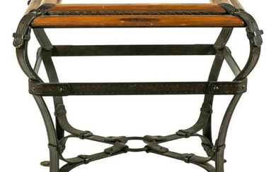Modern Equestrian Table after Jacques Adnet Hermes