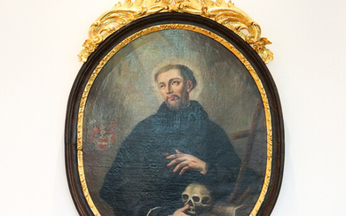 PAINTING OF SAINT FRANCIS.