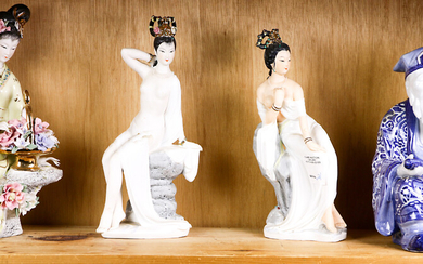 Porcelain Chinese figures