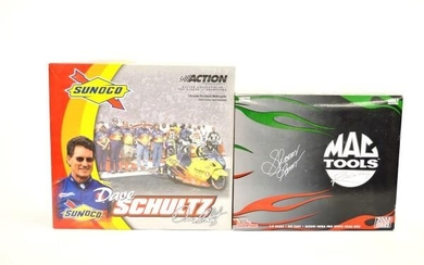 Two 1:9 scale limited edition motorcycle models, comprising an...