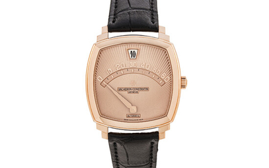 VACHERON CONSTANTIN, LIMITED EDITION PINK GOLD SALTARELLO, NO. 149/200