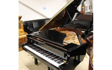 Yamaha (c1995) A 5ft 3in Model C1 grand piano in a bright eb...