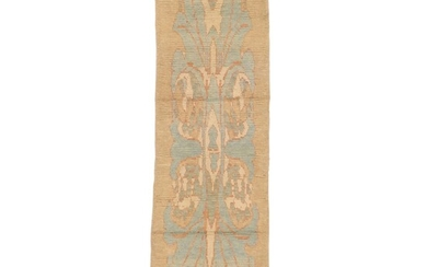2'10 x 9'5 Hand-Knotted Turkish Donegal Carpet Runner