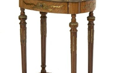 A French Louis XVI-style lamp table